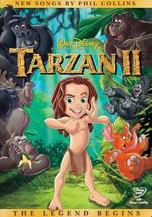 Tarzan II - DVD cover