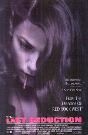 The Last Seduction - Original theatrical poster