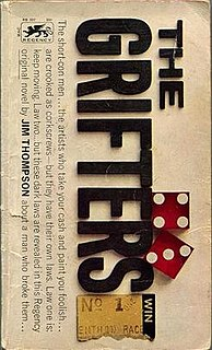 <i>The Grifters</i> (novel) 1963 crime novel by Jim Thompson