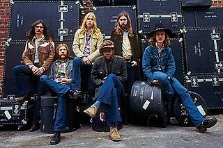 The Allman Brothers Band American rock/blues band
