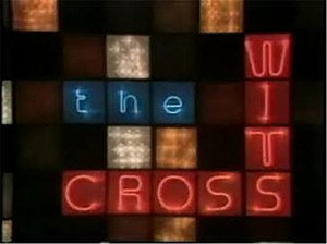 The Cross-Wits - Logo for the 1975–80 version of The Cross-Wits.