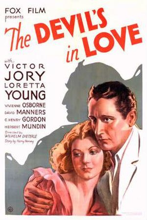 The Devil's in Love - Theatrical release poster