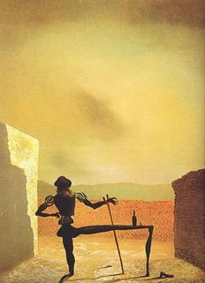 <i>The Ghost of Vermeer of Delft Which Can Be Used As a Table</i> painting by Salvador Dalí