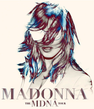 The MDNA Tour - Promotional poster for the tour