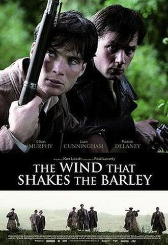 The Wind That Shakes the Barley (film) - Theatrical release poster