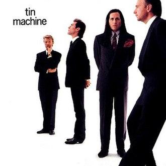Tin Machine (album) - Image: Tin machine album