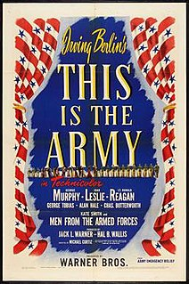 <i>This Is the Army</i> 1943 film by Michael Curtiz