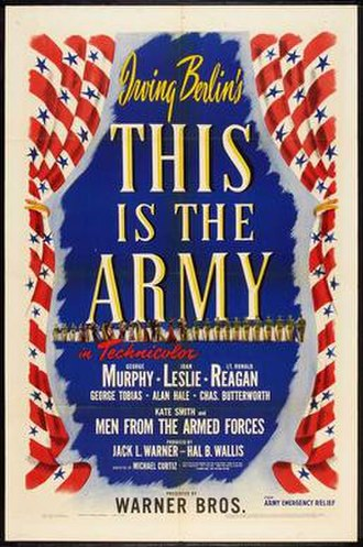 This Is the Army - Original film poster