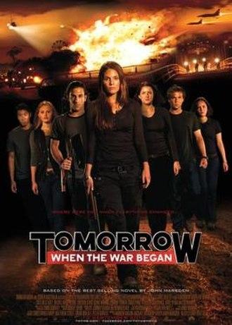 Tomorrow, When the War Began (film) - Australian theatrical release poster