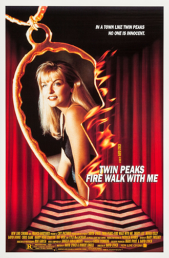 Twin Peaks: Fire Walk with Me - Theatrical release poster