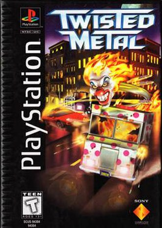 Twisted Metal (1995 video game) - Image: Twisted Metal cover