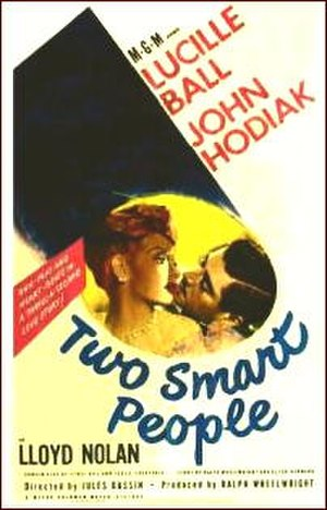 Two Smart People - Theatrical release poster
