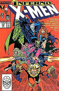 Inferno (Marvel Comics) 1989 Marvel Comics company-wide crossover