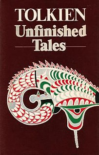 <i>Unfinished Tales</i> book