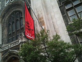 Union Theological Seminary (New York City) - Union Theological Seminary entrance on Broadway.