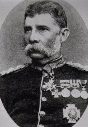 Harry Prendergast - Prendergast in 1886