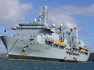 <i>Fort Victoria</i>-class replenishment oiler