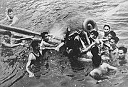 McCain being pulled from Truc Bach Lake in Hanoi and becoming a POW on October 26, 1967