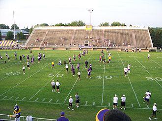 2008 Minnesota Vikings season - 2008 Minnesota Vikings training camp in Mankato, Minnesota.