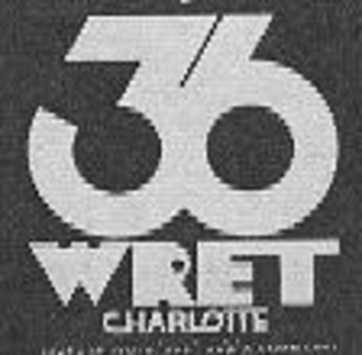 WCNC-TV - WRET-TV logo from the 1970s.