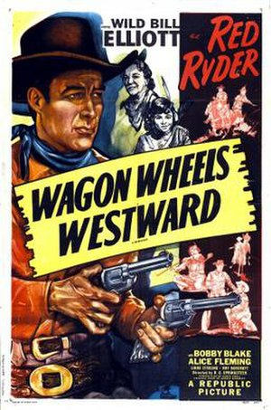 Wagon Wheels Westward - Theatrical release poster