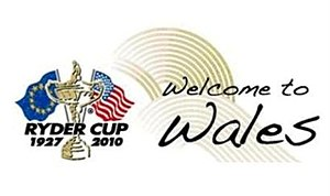 2010 Ryder Cup - Welcome to Wales logo