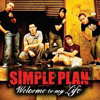 Welcome to My Life - Image: Welcometomylife