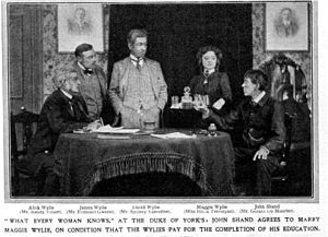 What Every Woman Knows (play) - Original British production at the Duke of York's Theatre, 1908