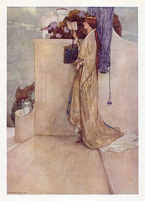 William Russell Flint - Image: William Russell Flint W. S. Gilbert Savoy Operas Princess Ida 3