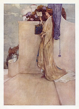 William Russell Flint - Image: William Russell Flint W. S. Gilbert Savoy Operas Princess Ida 3
