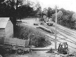 Wotton railway station (Brill Tramway) railway station in Buckinghamshire, England