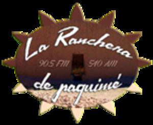 XHTX-FM - Image: XHTX La Rancherade Paquime logo