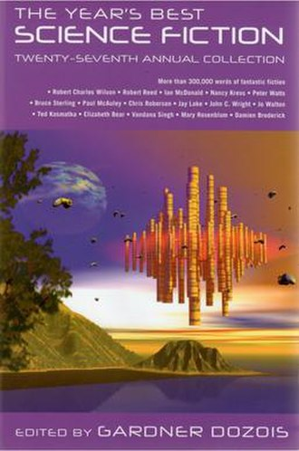 The Year's Best Science Fiction: Twenty-Seventh Annual Collection - Image: Year's Best SF 27th cover