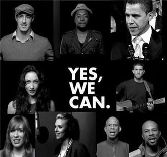 Yes We Can (will.i.am song) - Image: Yes We Can