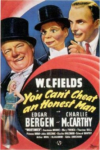 You Can't Cheat an Honest Man - Image: You Can't Cheat an Honest Man