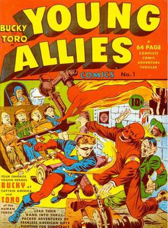 Young Allies (Marvel Comics) - Image: Young Allies Comics Issue 1