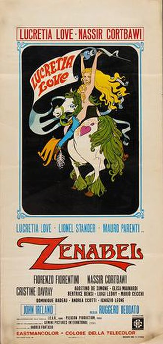 Zenabel - Italian film poster