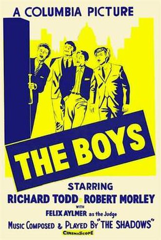 "The Boys (1962 British film) - Image: ""The Boys"" (1962 British film)"
