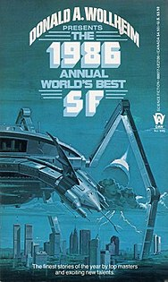 <i>The 1986 Annual Worlds Best SF</i> book by Donald A. Wollheim