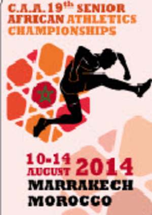 2014 African Championships in Athletics - Image: 2014 African Championships in Athletics Logo