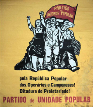 Popular Unity Party (Portugal) - PUP poster