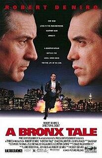 <i>A Bronx Tale</i> 1993 American crime drama film set in the Bronx directed by Robert De Niro