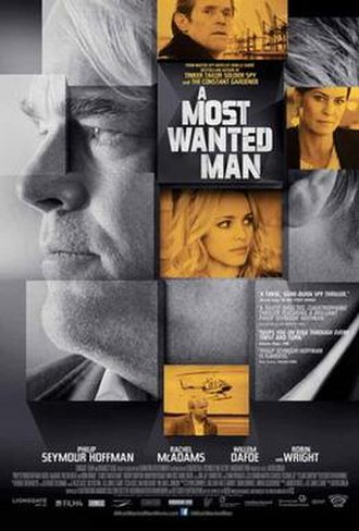 A Most Wanted Man (film) - Theatrical release poster