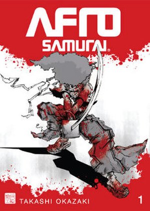 Afro Samurai - Volume one of the Afro Samurai manga remake, first released in America by Tor Books and Seven Seas Entertainment.