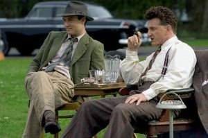 All the King's Men (2006 film) - Jude Law (left) and Sean Penn in the film.