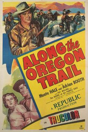 Along the Oregon Trail - Theatrical release poster