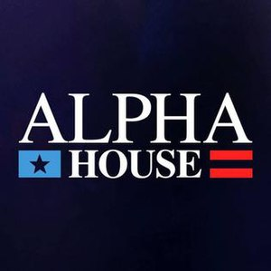 Alpha House - Image: Alpha House title card