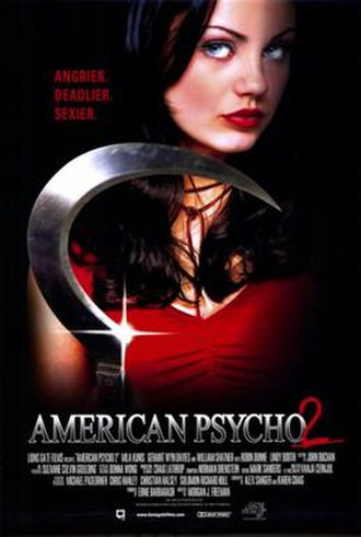 American Psycho 2 - Original poster