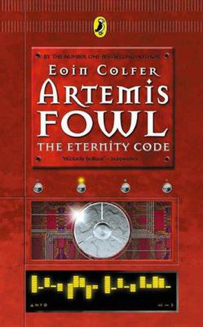 Picture of a book: Artemis Fowl: The Eternity Code