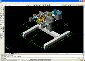 A screenshot of AutoCAD, Autodesk's flagship p...